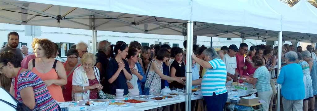 ONG Misol de las Hermanas Franciscanas en la Feria Misionera de Fornells (1)