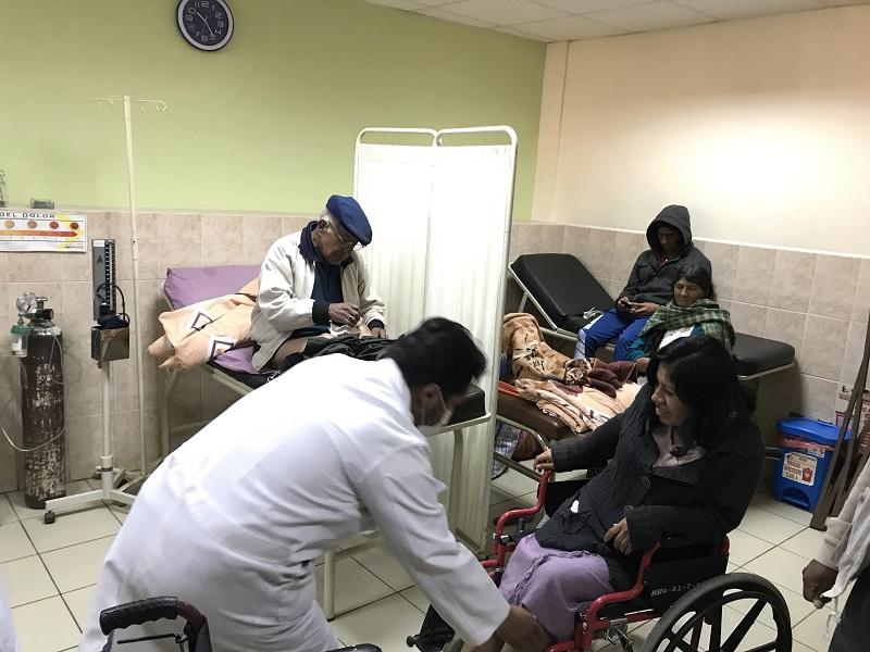 Participa en la campana de MISOL para ayudar a los enfermos del Hospital que gestiona en la Paz (2)
