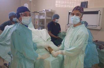 Las voluntarias Amanda y Mar ya operan en nuestro Hospital de la Paz (2)