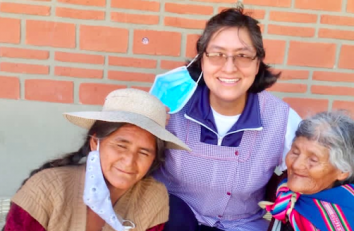 Mujeres que apoyan a mujeres, en Sucre (Bolivia)