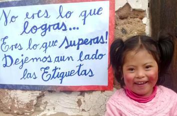 Celebración virtual del Día nacional de las personas con capacidades diferentes en Bolivia