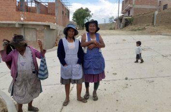 El barrio de la Misericordia en Sucre (Bolivia)