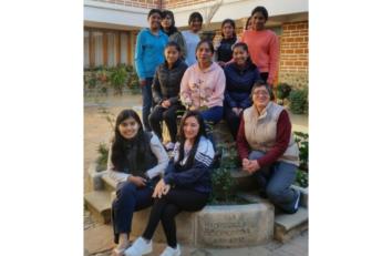 Celebración de la Virgen de la Misericordia en la Residencia de Sucre (Bolivia)