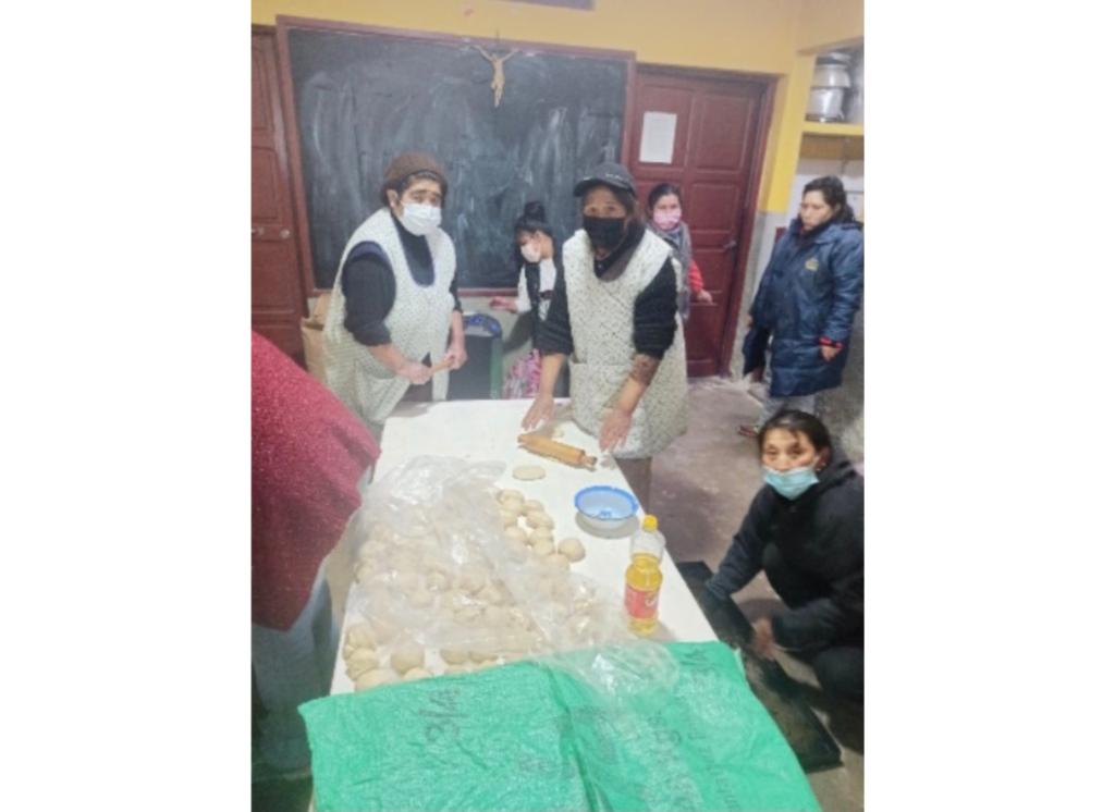 Trabajo colaborativo en el Centro Integral San Francisco de Asís de La Paz (Bolivia)